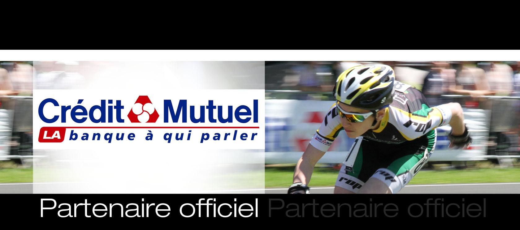 Crédit Mutuel, partenaire officiel du Rezé Olympique Patinage